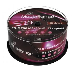 MediaRange CD-R 52x 700MB/80min Cake50