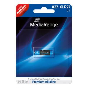 MediaRange Premium αλκαλική μπαταρία A27 / 6LR27 12V Pack 1
