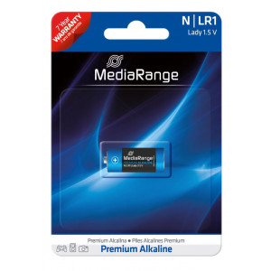 MediaRange Premium αλκαλική μπαταρία Lady N | LR1 1.5V Pack 1