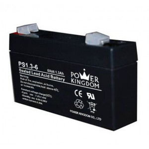 Power Kingdom lithium μπαταρια , 1.3Ah/6V
