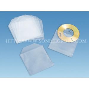 Λευκός πλαστικός φάκελος για CD & DVD, με παράθυρο