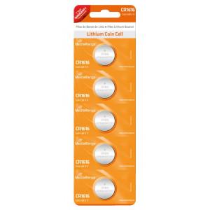 MediaRange Μπαταρια λιθιου κουμπια 3v CR1616 - Συσ.5 τεμ.