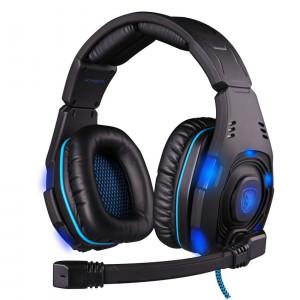 SADES Gaming headset USB - 7.1CH (Knight), 50mm ακουστικά
