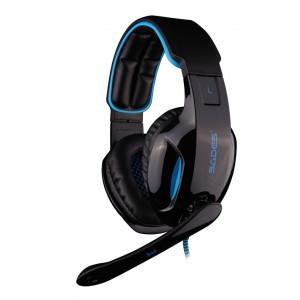 SADES Gaming headset USB - 7.1CH (Snuk) με 40mm πανισχυρα ακουστικα