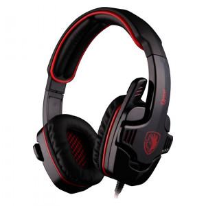 SADES Gaming headset (Gpower) με 40mm πανισχυρα ακουστικα