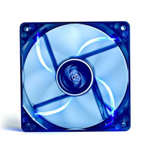 DEEP COOL ανεμιστηρας 120mm, Ημιδιαφανος, 4x Blue LED