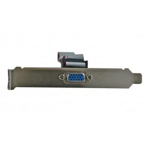 POWERTECH Adapter DB15 αρσενικο σε 16PIN flat καλωδιο με βαση