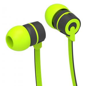 YISON ακουστικά HANDSFREE (ON/OFF) - GREEN