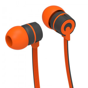 YISON ακουστικά HANDSFREE (ON/OFF) - ORANGE