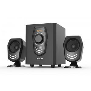 iVOOMi Ηχεία 2.1 , 30 watt, USB, SD, FM , LCD, Τηλεχειριστήριο