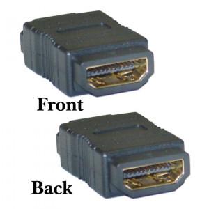 Powertech adapter HDMI 19pin θηλυκο σε θηλυκο