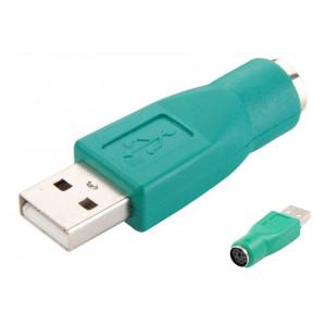 Power tech adapter αρσενικο USB 2.0 σε θηλυκο PS2
