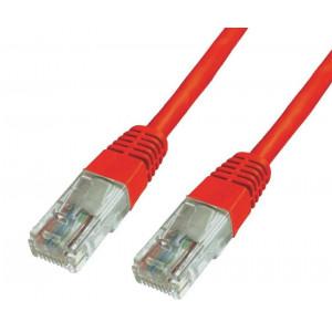 Power tech UTP Cat 6e - RED - 1M