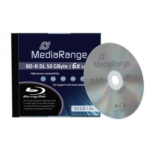 MR BD-R(bluray) Dual Layer 50GB 6x speed, single jewelcase