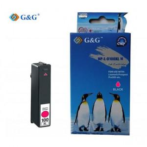 G & G Συμβατο Lexmark 100 XL - Magenta