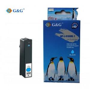 G & G Συμβατο Lexmark 100 XL - CYAN