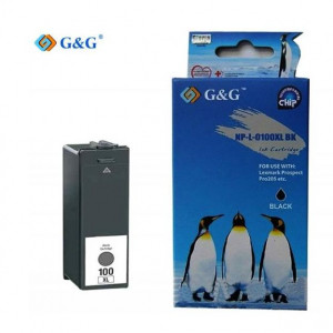 G & G Συμβατο Lexmark 100 XL - BLACK