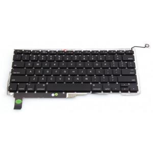 Πληκ. Αντ. Για Macbook Pro Unibody A1286 2008 MB470 MB471 US Μαύρο