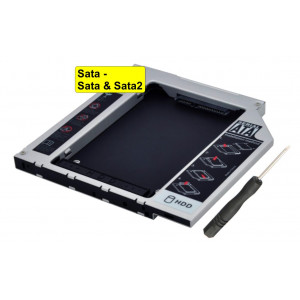 HDD Caddy Sata / Sata & Sata2 2.5inch - 12,7mm