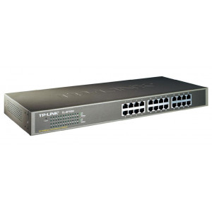 TP-LINK 24-Port 10/100Mbps Rackmount Switch - TL-SF1024