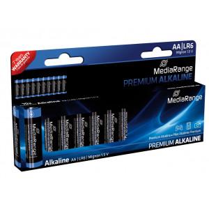 MediaRange Premium Αλκ.μπα. AA (LR6) - 10TEM