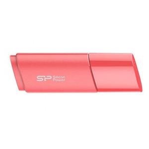 SILICON POWER USB Flash Drive U06, USB 2, 64GB, Aqua Pink