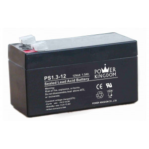 POWER KINGDOM μολυβδου battery 12Volt 1.3Ah