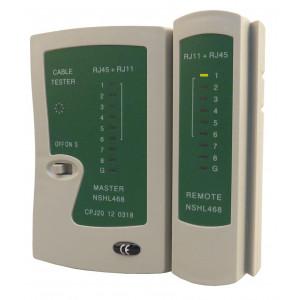 PT multi network tester  RJ11,RJ12,RJ45 (καλωδιο δικτυου και τηλεφωνου)