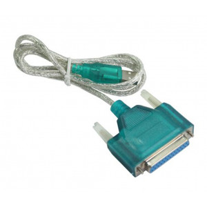 PT καλωδιο USB 2.0V σε Parallel 25pin (F) - 1.5M