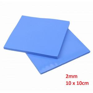Thermal Pad 2mm, 10 x 10cm, Blue