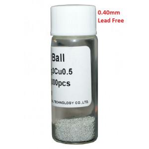 Solder Balls 0.40mm, Lead Free, 25k