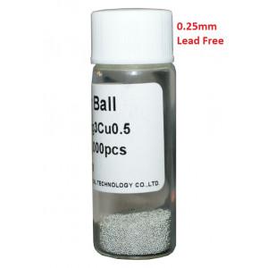 Solder Balls 0.25mm, Lead Free, 25k