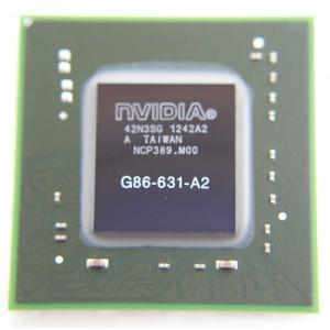 NVIDIA BGA IC Chip G86-631-A2, with Balls
