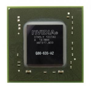 NVIDIA BGA IC Chip G86-635-A2, with Balls