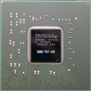 NVIDIA BGA IC Chip 8600M GS G86-731-A2,  with Balls