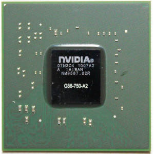 NVIDIA BGA IC Chip 8400M GT G86-750-A2, with Balls