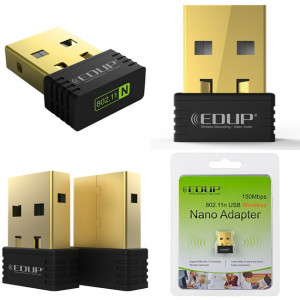 EDUP Wireless Nano USB Adapter EP-N8553, 150Mbps, 802.11b/g/n