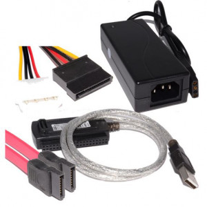 POWERTECH καλώδιο USB 2.0 σε IDE & S-ATA με τροφοδοσία. 1,5m