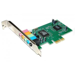 POWERTECH Καρτα Επεκτασης PCI-e to 6 channel Audio, Chipset CM8738
