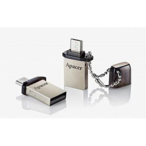 APACER USB Mobile Flash Drive AH175, USB 2.0, 8GB, Black