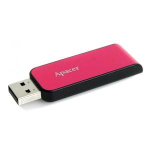 APACER USB Flash Drive AH334, USB 2.0, 64GB, Pink