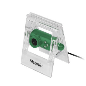 MSONIC Web Camera MR1803E 0.3MP, Green