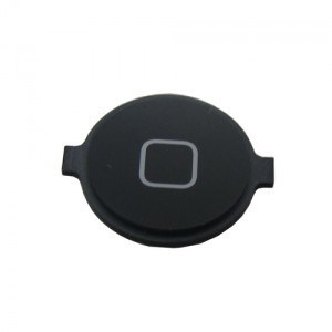 Πληκτρο Home button για iPhone 4G, Black