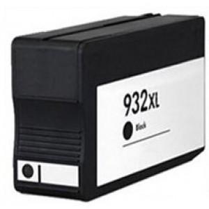 Συμβατο Inkjet για HP, 932 XL, 40ml, Black