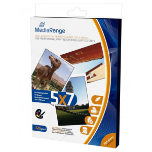MediaRange 130x180mm PP CARD, GLOSSY, 220g, 50TEM
