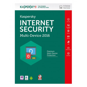 Kaspersky Internet Security 2016  (10 ΑΔΕΙΕΣ, 1 ΕΤΟΣ) - ENGLISH