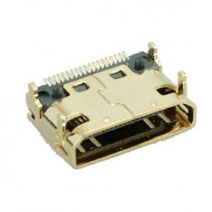 HDMI Connector Mini C TYPE1, Cooper, Gold
