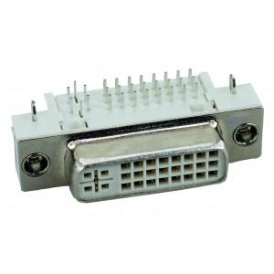 DVI Connector - DVI 24+5, Cooper, Bronze