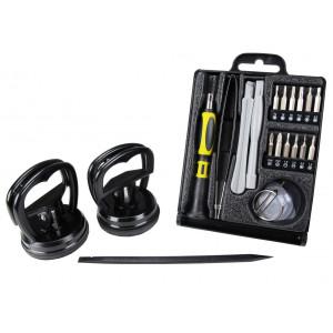 SPROTEK Repair Tool kit, για smartphones, Κασετίνα, 22 τεμ.