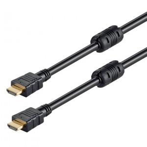 Powertech Καλ.HDMI (Μ) 19pin 1,4V(CCS) - 2 x F - με Ethernet -0,5Μ